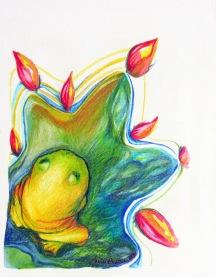 Illustration animalière - grenouille