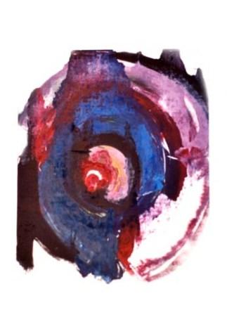 Ovoïdales 4 Encre sur papier Collection particulière